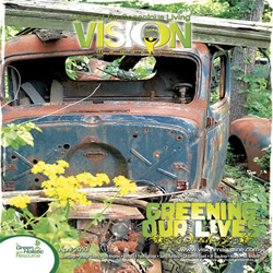 Vision Magazine cover April 2010