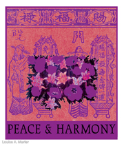 Peace and Harmony Pink and Purple LAM_M106