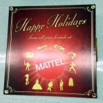 Mattel holiday gift package