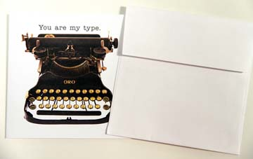 TypoWriter Boxed Greeting Cards