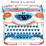 Qwerty is a rainbow. LAM_B122