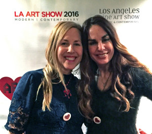 LA Marler at LA Art Show 2016