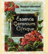 Fine Prints of vintage french perfume label